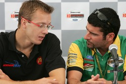 Press conference: Sébastien Bourdais and Alex Tagliani