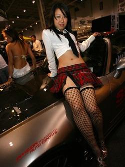 Grand Prix of Toronto Auto Expo: a lovely hostess