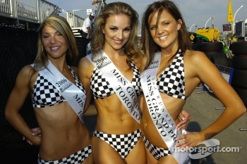 The lovely Miss Grand Prix of Toronto winners