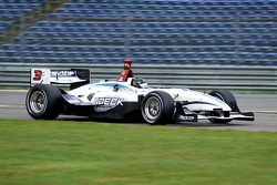Soon getting back to the pitslane, Paul Tracy