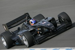 Robert Doornbos driving the Minardi Team USA Panoz DP01