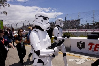 Stormtroopers secure the grid