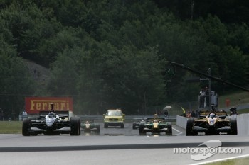 Start: Will Power, Simon Pagenaud and Jan Heylen stuck on the grid