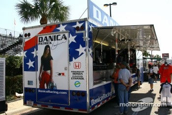 Danica Patrick merchandising area