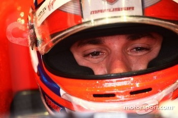 Glock disappointed with Marussia Virgin