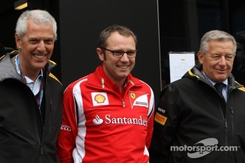 Stefano Domenicali, Scuderia Ferrari Sporting Director and Pirelli CEO