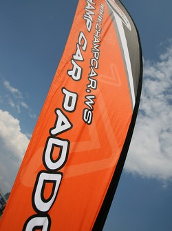 Champ Car paddock flag
