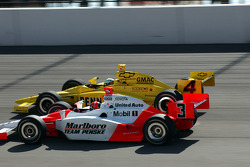 Helio Castroneves and Tomas Scheckter