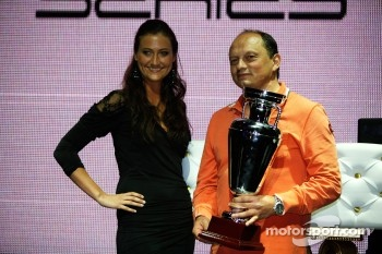 GP2 launch party, Billionaire Istanbul: Frederic Vasseur, Lotus ART team principal
