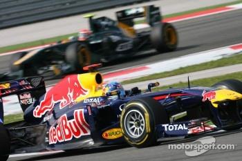 Again a convincing victory for Sebastian Vettel