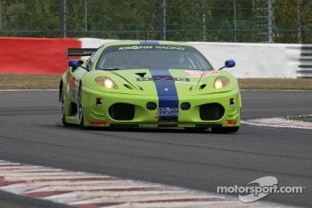 #57 Krohn Racing Ferrari F430: Tracy Krohn, Nic Jonsson, Michele Rugolo