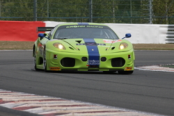 #57 Krohn Racing Ferrari F430: Tracy Krohn, Nic Jonsson, Michele Rugolo