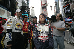 Tomas Scheckter and Danica Patrick