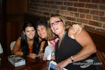Autograph session: Danica Patrick with fans