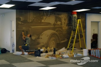 Construction continues in Jerry's Garage