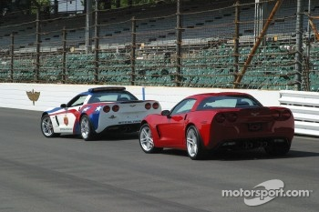 Sam Hornish Jr. has his pick of Corvettes