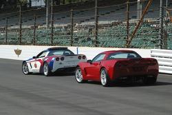 Sam Hornish Jr. has his pick of Corvettes