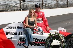 Mr. and Mrs. Sam Hornish Jr.