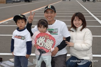 Fans at Motegi
