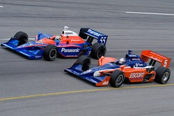 Buddy Lazier and Kosuke Matsuura