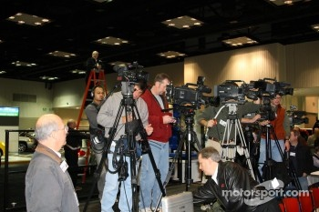 Television coverage of the unveiling of the 2008 Indianapolis 500 Pace Cars was extensive