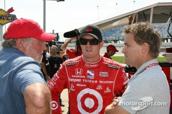 Scott Dixon and Stefan Johansson
