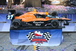 Victory lane: the 2007 IndyCar Series champion car