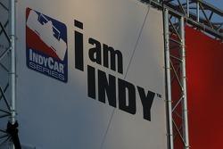 I am Indy signage