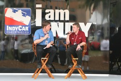 Joey Scarallo on the 'I am Indy' stage