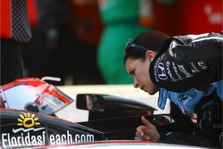 Michael Andretti and Danica Patrick