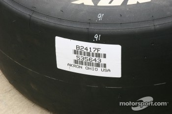 All Firestone Indy tires are made in Akron, Ohio