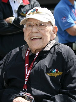 Former Indianapolis Motor Speedway announcer, Tom Carnegie