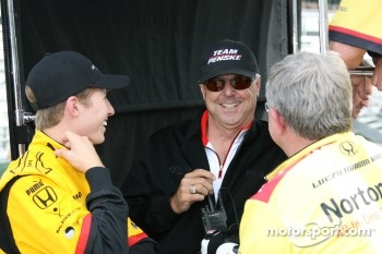 Ryan Briscoe and Rick Mears