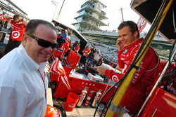 Chip Ganassi and Dan Wheldon