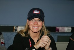 Autograph session: Sarah Fisher