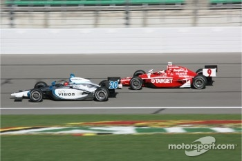 Ed Carpenter and Scott Dixon