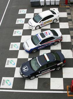 Honda pace cars
