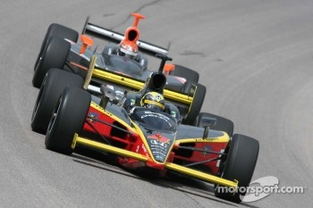 Vitor Meria and A.J. Foyt IV