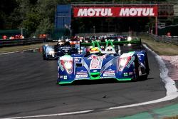 Pace lap: #16 Pescarolo Team Pescarolo-Judd:Emmanuel Collard, Christophe Tinseau, Julien Jousse