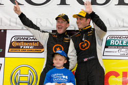 ST podium: class winners Ryan Eversley and Karl Thomson