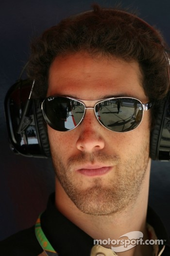 Bruno Senna, test driver, Renault F1 Team