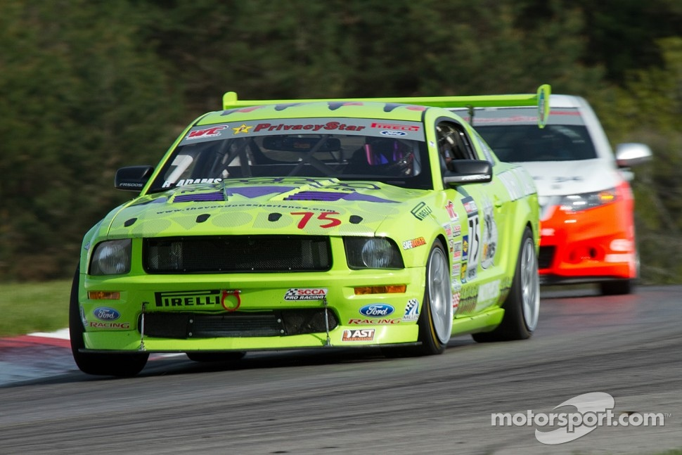 Brad Adams, Ford Mustang FR500S