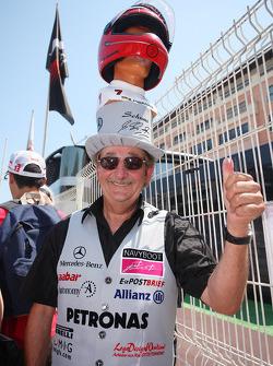 Michael Schumacher fan