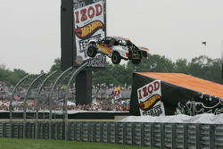 Fearless at the 500 Hot Wheels jump with Tanner Foust