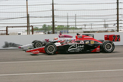 Justin Wilson, Dreyer & Reinbold Racing, Pippa Mann, Conquest Racing