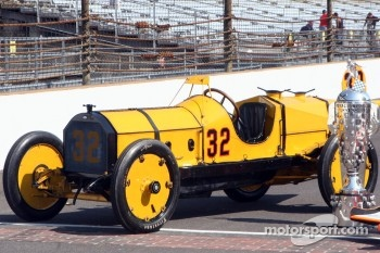 The 1911 winner Marmon Wasp of Ray Harroun