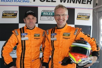 GS Pole winners Multimatic Motorsports Mustang Boss 302R: Scott Mawell and Joe Foster