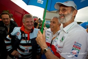 Jacques Nicolet and Henri Pescarolo at 24 Hours of Le Mans