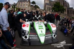 #5 Hope Racing Oreca Swiss Hy Tech-Hybrid