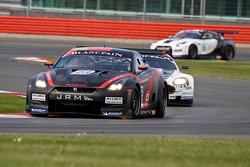 #23 JR Motorsports Nissan GT-R GT1: Michael Krumm, Lucas Luhr
